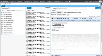 Comunicaciones Email